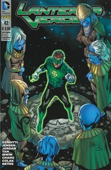 LANTERNA VERDE THE NEW 52 (LION) 42