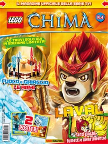 LEGO - LEGENDS OF CHIMA MAGAZINE 4