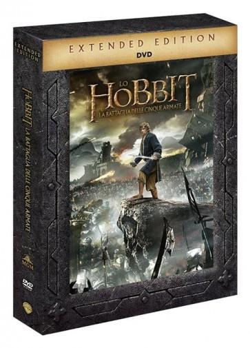 LO HOBBIT - LA BATTAGLIA DELLE 5 ARMATE EXTENDED EDITION (DVD)