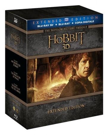 LO HOBBIT - LA TRILOGIA EXTENDED EDITION 3D (BLU RAY)