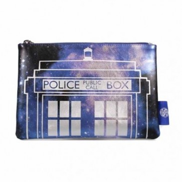 MAKEDW01 - DOCTOR WHO - COSMETIC BAG - DR WHO (GALAXY)