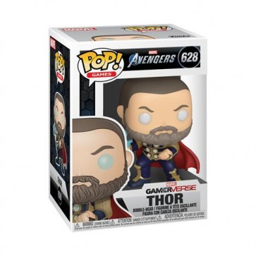 MARVEL: AVENGERS 2020 GAME - POP FUNKO VINYL FIGURE 628 THOR (STARK TECH SUIT) 9CM