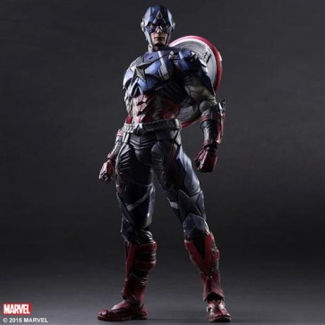 MARVEL COMIC VARIANT - CAPTAIN AMERICA - PLAY ARTS KAI - 25CM
