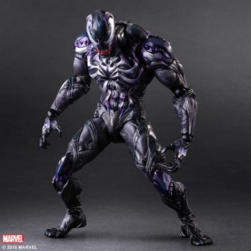 MARVEL COMIC VARIANT - VENOM - PLAY ARTS KAI - 26CM
