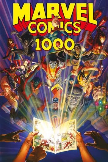 MARVEL COMICS 1000 - CARTONATO