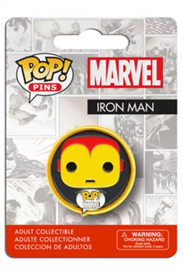 MARVEL COMICS POP! PIN BADGE - IRON MAN
