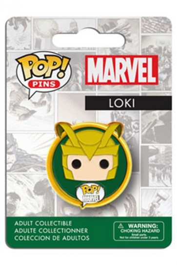 MARVEL COMICS POP! PIN BADGE - LOKI
