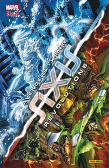 MARVEL CROSSOVER 87 - AVENGERS & X-MEN: AXIS REVOLUTIONS 3