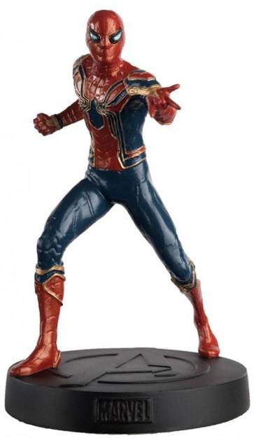 MARVEL FIGURE & MAGAZINE - IRON SPIDER (SPIDER MAN) 14CM