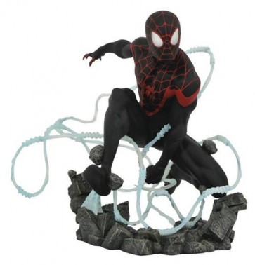 MARVEL PREMIERE COLLECTION - MILES MORALES SPIDER-MAN - STATUE 25CM