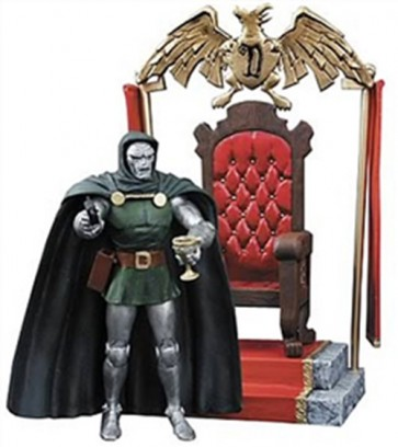 MARVEL SELECT DR DOOM ACTION FIGURE (DIAMOND SELECT) 18 CM