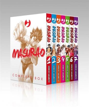MASURAO COMPLETE BOX (VOL. 1-7 + 1 GOLD)