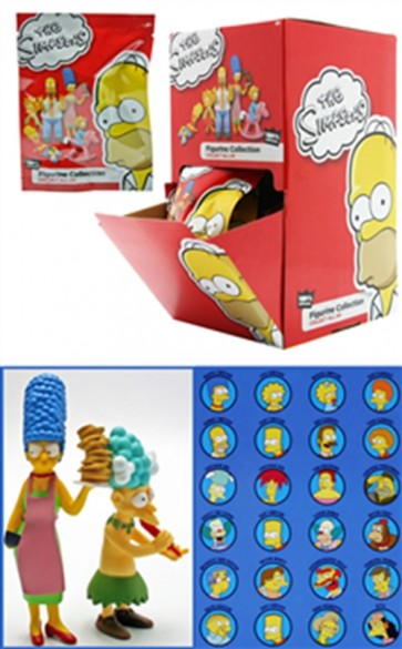 MFGTPF004 - SIMPSONS DISPLAY CON 24 FIGURES A SORPRESA