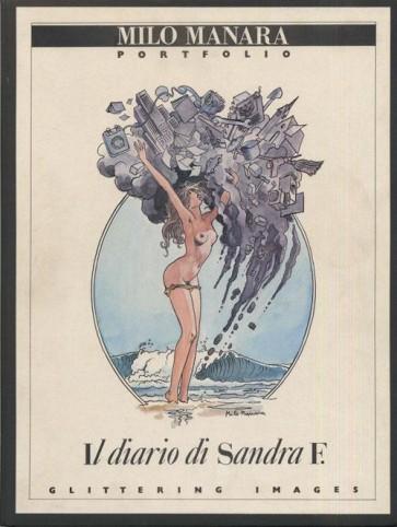 MILO MANARA PORTFOLIO - IL DIARIO DI SANDRA F. - ED.AUTOGRAFATA
