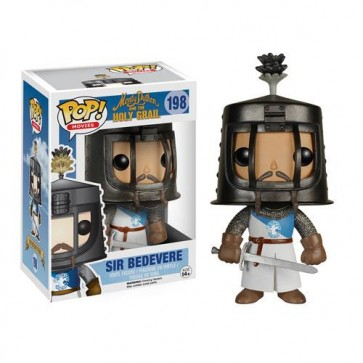 MONTY PYTHON AND THE HOLY GRAIL - POP FUNKO VINYL FIGURE 198 SIR BEDEVERE 10 CM