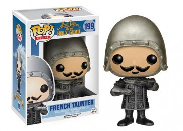 MONTY PYTHON AND THE HOLY GRAIL - POP FUNKO VINYL FIGURE 199 FRENCH TAUNTER 10 CM