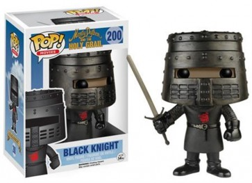 MONTY PYTHON AND THE HOLY GRAIL - POP FUNKO VINYL FIGURE 200 BLACK KNIGHT 10 CM