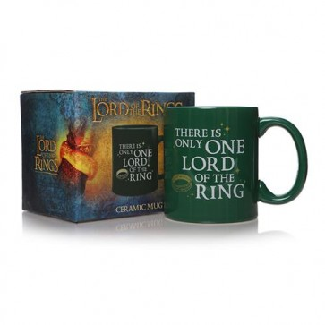 MUGBLOTR02 - LORD OF THE RINGS - LORD OF THE RINGS ONLY ONE LORD MUG