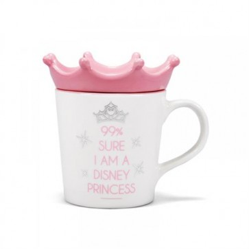 MUGDDC08 - DISNEY CLASSIC - MUG SHAPED (BOXED) - PRINCESS (SURE I AM A DISNEY PRINCESS)