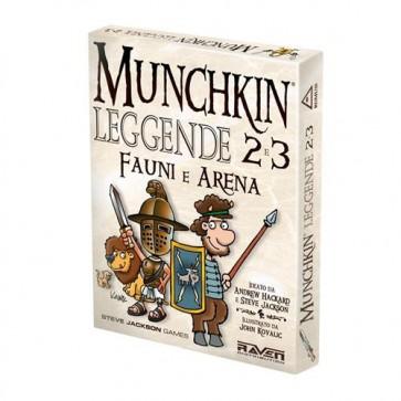 MUNCHKIN LEGGENDE 2 E 3