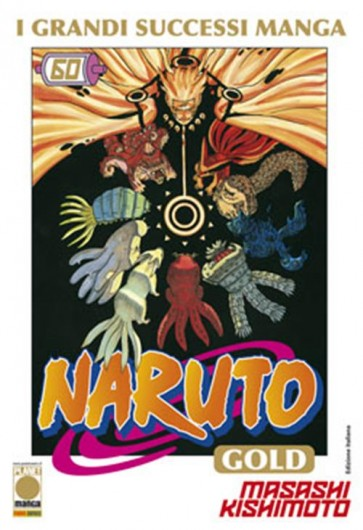 NARUTO MANGA GOLD 60