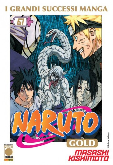 NARUTO MANGA GOLD 61