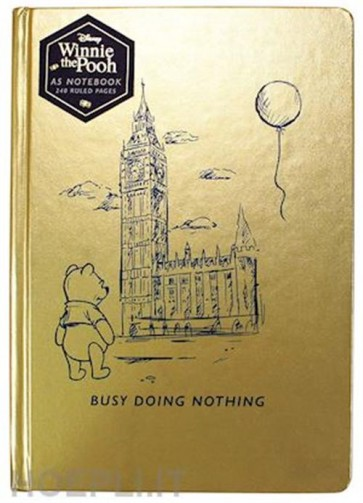 NBA5WP01 - DISNEY CLASSIC - A5 NOTEBOOK - WINNIE THE POOH (BUSY DOING NOTHING)