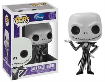NIGHTMARE BEFORE CHRISTMAS - POP FUNKO VINYL FIGURE 15 JACK SKELLINGTON 10 CM