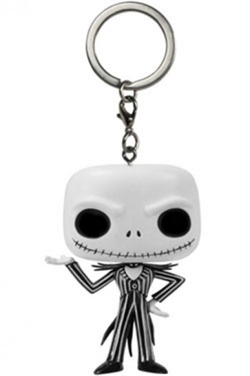NIGHTMARE BEFORE CHRISTMAS - POP FUNKO VINYL KEYCHAIN JACK SKELLINGTON 4 CM