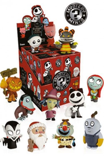 NIGHTMARE BEFORE CHRISTMAS SERIE 2 - MYSTERY MINI FIGURES 6CM - SERIE 1 DISPLAY (12 PZ)