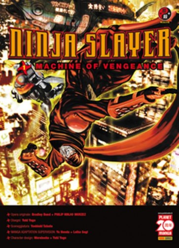 NINJA SLAYER 1 - MACHINE OF VENGEANCE