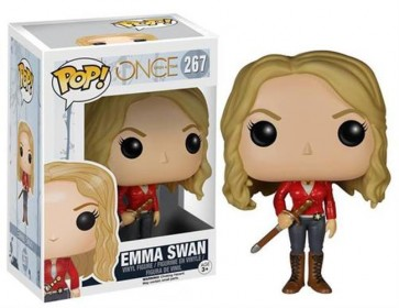 ONCE UPON A TIME - POP FUNKO VINYL FIGURE - 267 EMMA SWAN 9CM