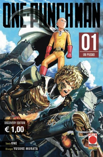 ONE-PUNCH MAN 1 - DISCOVERY EDITION