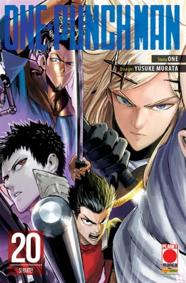 ONE-PUNCH MAN 20 - VARIANT COVER CON SOVRACCOPERTA
