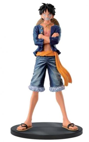 ONE PIECE - JEANS FREAK - LUFFY A - BANPRESTO STATUA 1CM