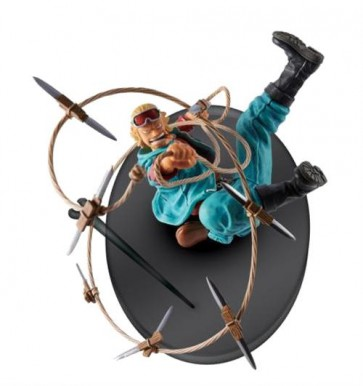ONE PIECE - SCULTURE BIG ZOUKEIO 4 - PAULY - BANPRESTO STATUA 9CM