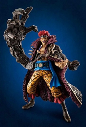 ONE PIECE P.O.P. NEO EUSTASS KID STATUA MEGAHOUSE 23 CM
