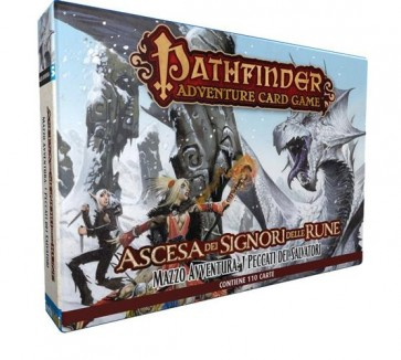 PATHFINDER ADVENTURE CARD GAME - MAZZO AVVENTURA: I PECCATI DEI SALVATORI