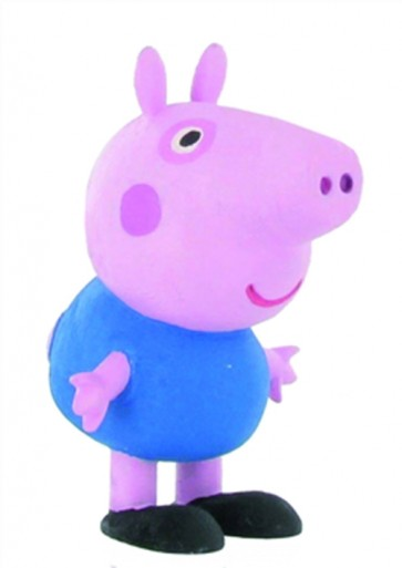 PEPPA PIG MINI FIGURE - GEORGE PIG - 6 CM