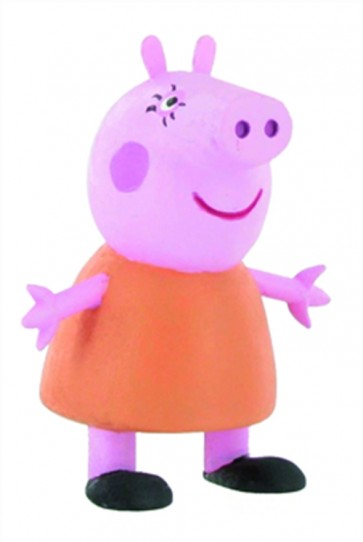 PEPPA PIG MINI FIGURE - MAMMA PIG - 6 CM
