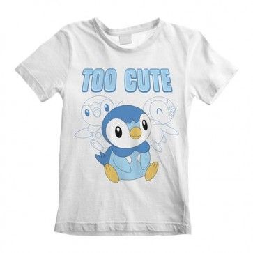 POKEMON - T-SHIRT - TOO CUTE (KIDS) 7-8 YEARS