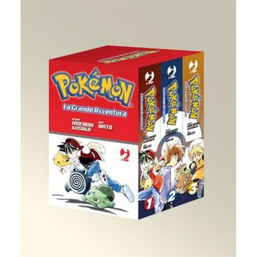 POKEMON LA GRANDE AVVENTURA - BOX 1 (1-2-3)