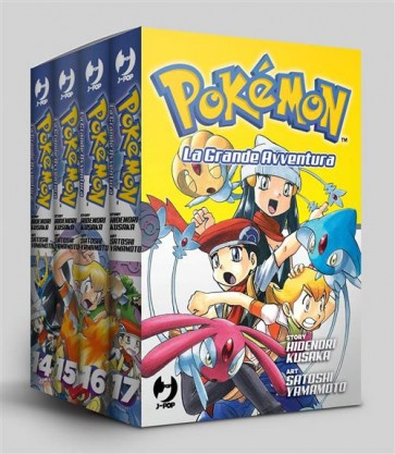 POKEMON LA GRANDE AVVENTURA - BOX 5 (14-17)