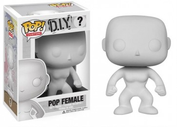 POP CUSTOM - POP FUNKO VINYL FIGURE BLANK FEMALE 10 CM