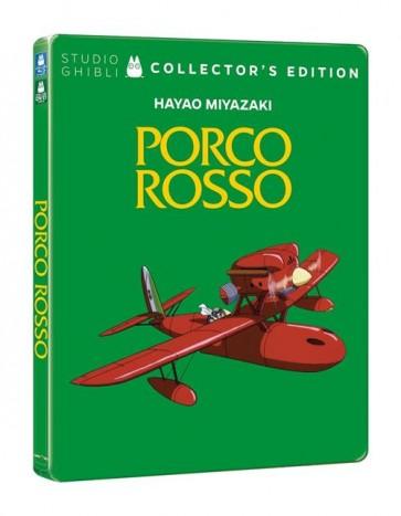 PORCO ROSSO (DVD + BLU-RAY) (Ltd CE Steelbook)