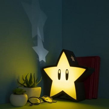 PP5100NN - NINTENDO SUPER MARIO - SUPER STAR LIGHT WITH PROJECTION