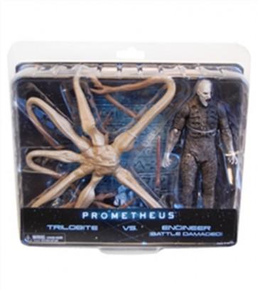 PROMETHEUS 2-PACK DELUXE FIGURE NECA 17 CM