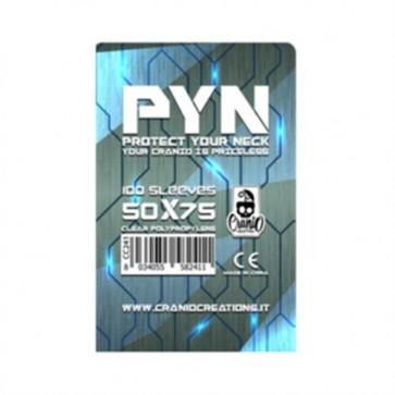 PYN - 100 BUSTINE PER GIOCHI DA TAVOLO - 50X75MM