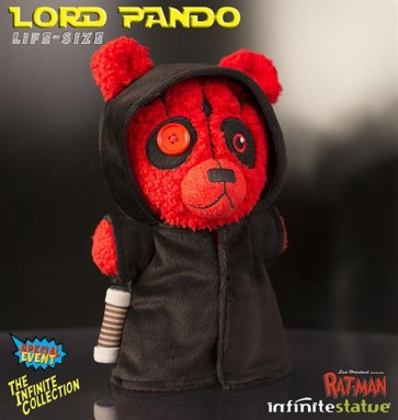 RAT-MAN LORD PANDO LIFE SIZE PLUSH 30 CM