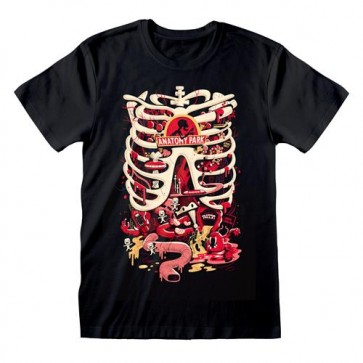 RICK AND MORTY - T-SHIRT - ANATOMY PARK L
